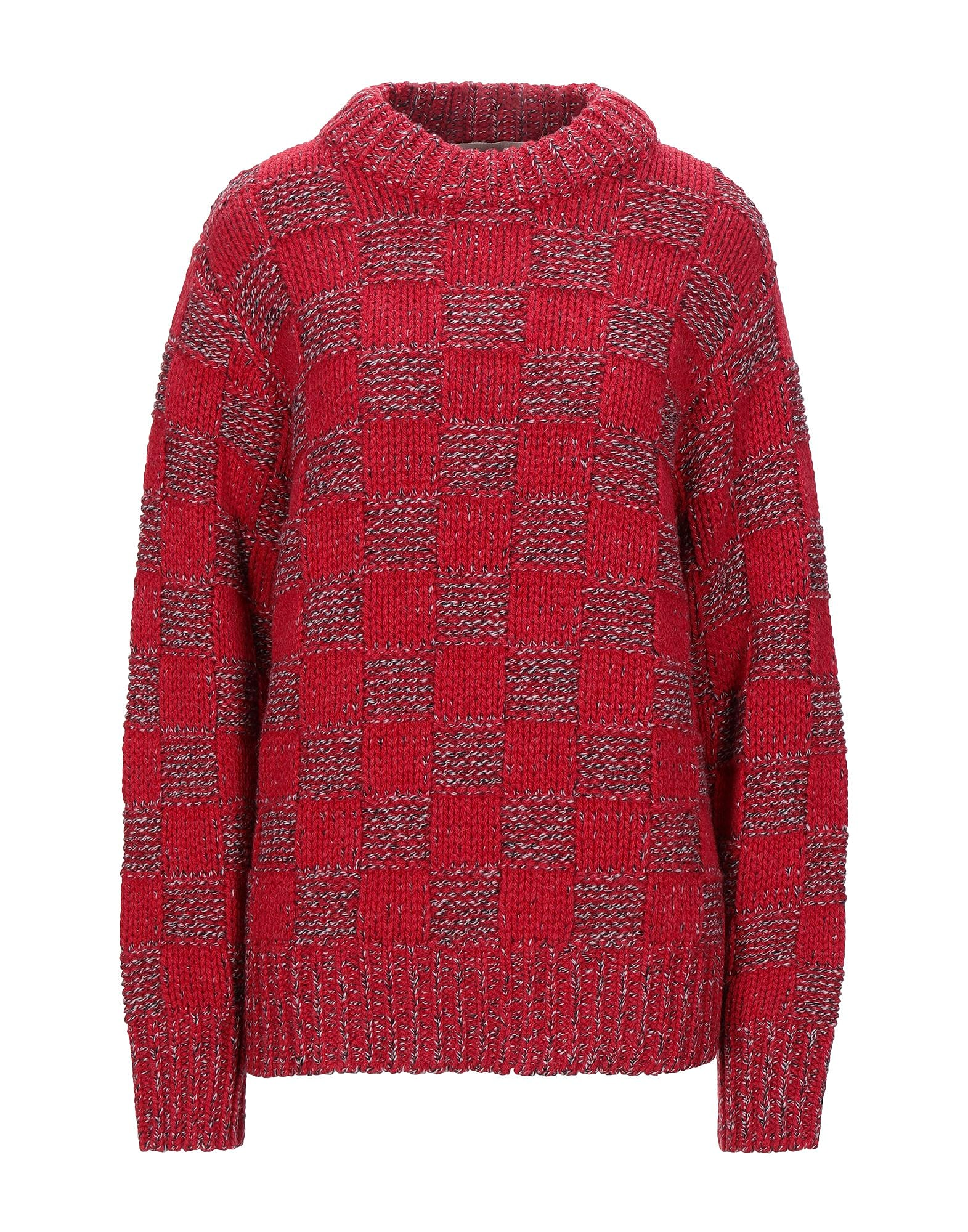 Marni Checked Wool Sweater